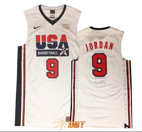 Nike Authentic USA 92 Jordan Jersey