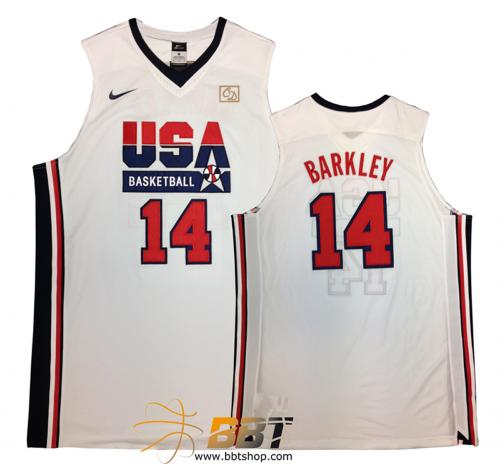 Nike Authentic USA 92 Barkley Jersey
